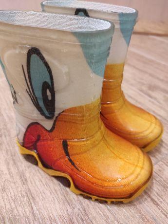 Гумаки сапоги Демар 20 21 demar 13,2 13,5 резиновые ботинки
