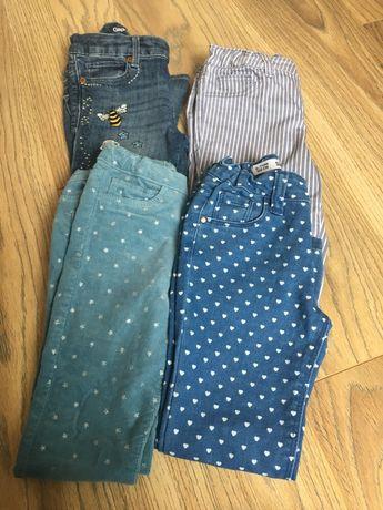 Dlugie spodnie dla dziecka