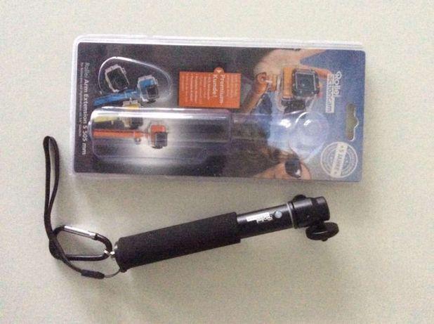 Rollei selfie stick novo para máquinas acção ou fotográficas
