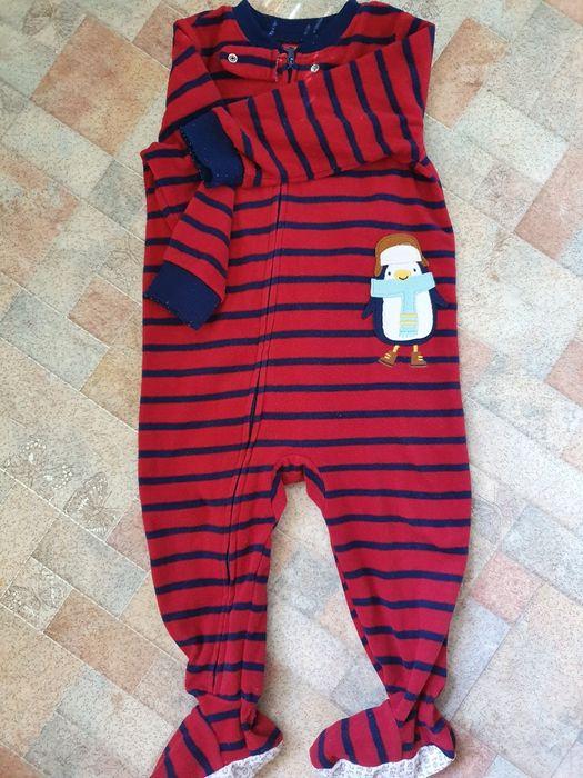 Флисовый человечек пижама Carter's Черкассы - изображение 1