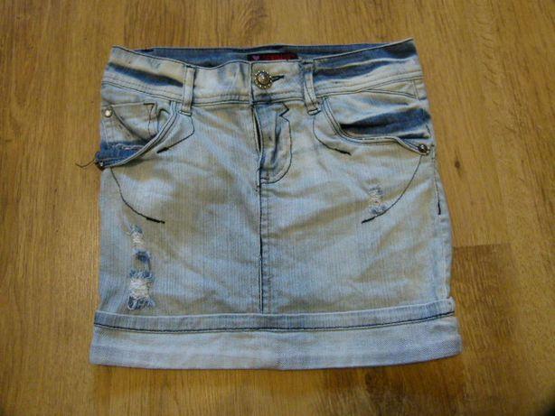 Primark spódniczka jeans rozmiar 140