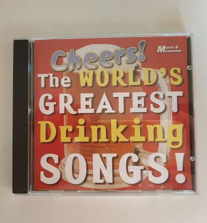 Płyta CD the world greatest drinking songs .