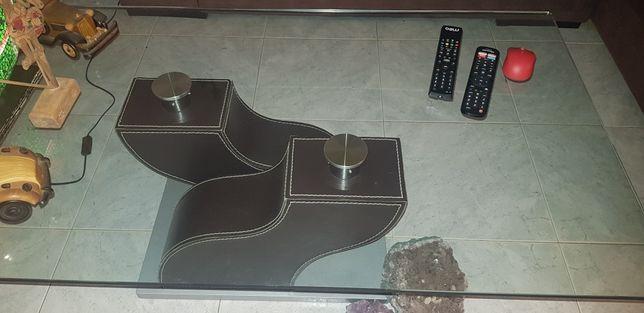Mesa de sala de vidro