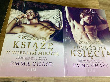 Książe w wielkim mieście + Sposób na księcia - Emma Chase