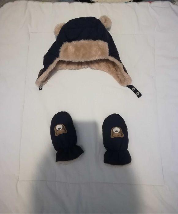 Zimowa czapeczka chłopięca roz . 48 Łowicz - image 1