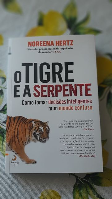 O tigre e a serpente + portes grátis