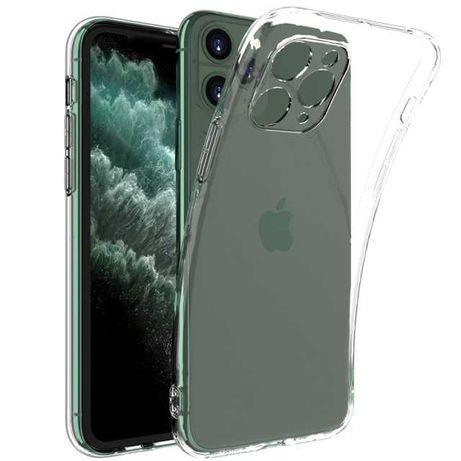 Etui silikonowe przeźroczyste do Iphone 11