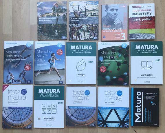Podręczniki i repetytoria do matury Nowa Era, Operon, WSiP, Greg