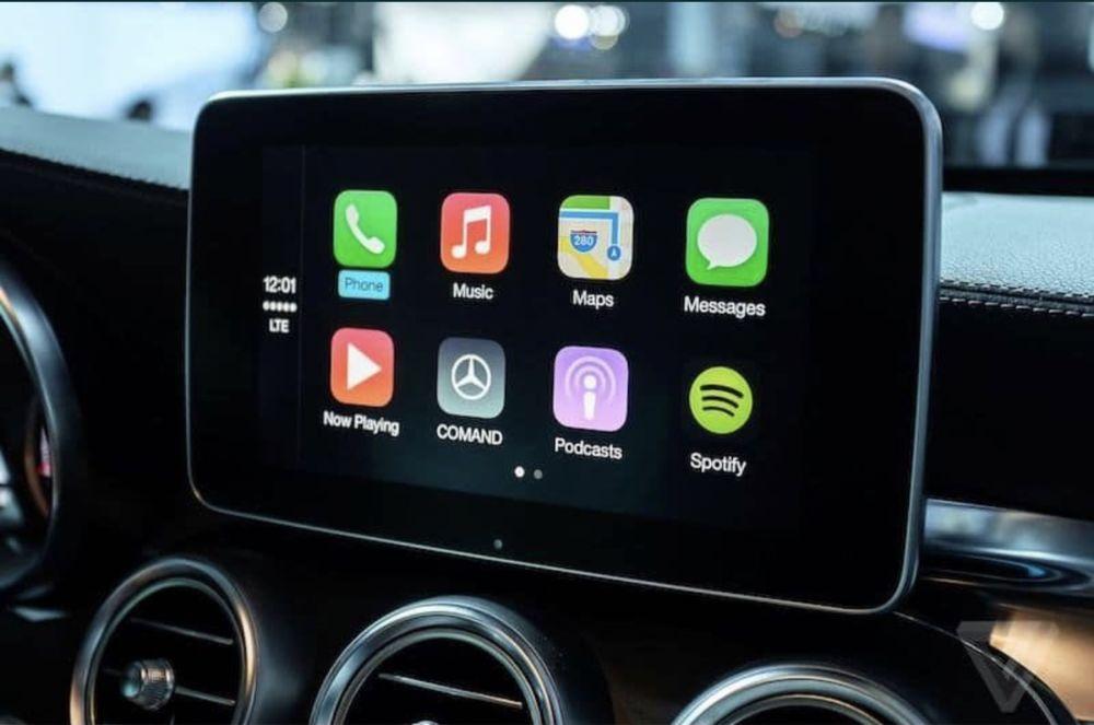 Ativação Apple CarPlay e Android Auto em Mercedes Benz