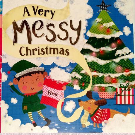 Детская книга на английском - A very messy Christmas