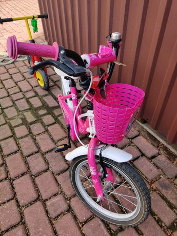 Rower Kellys Emma 16 cali dla dziewczynki 3-5lat. Stan b.dorby