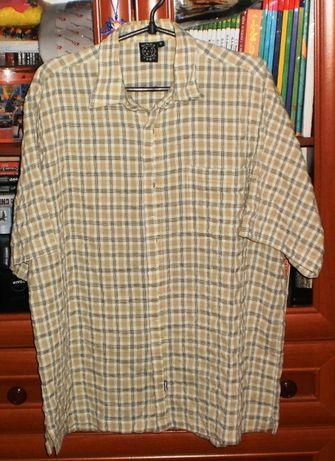 Хлопковая рубашка в клеточку maui большого размера