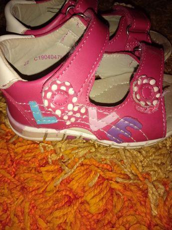 Sandalki dziewczece