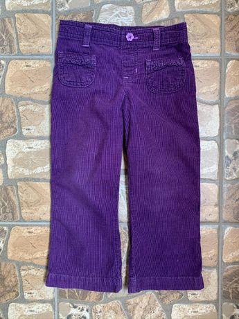 Jumping beans вельветовые брюки штаны джинсы 3-4 года
