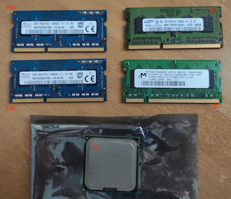 память DDR3 1-2-4 Gb