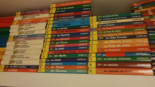 """Livros da serie """"uma aventura"""""""