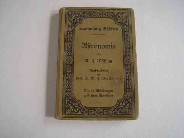 astronomie - książka z 1905 roku w języku niemieckim