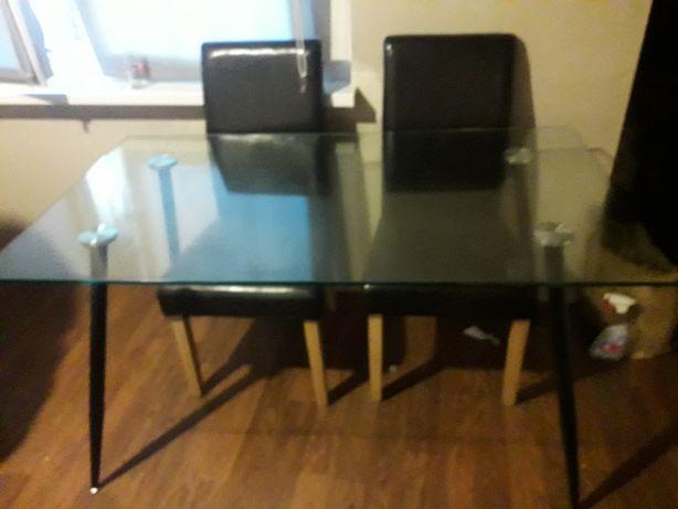 Stół szklany elegancki