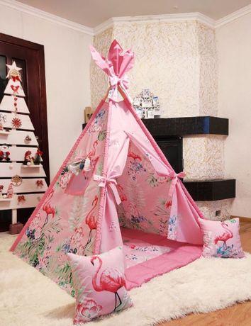 Детская палатка вигвам, домик, шалаш. Доставка по всей Украине