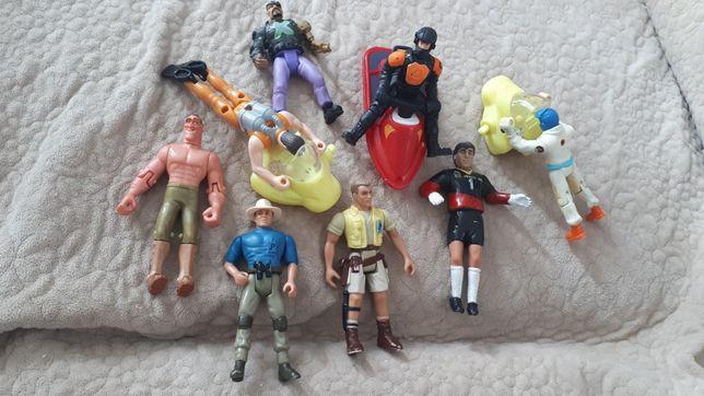 stare zabawki, figurki z przełomu lat 90tych i 2000 nych, Action Man