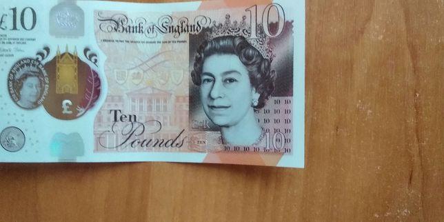 10 и 20 английских фунтов Детали в описании