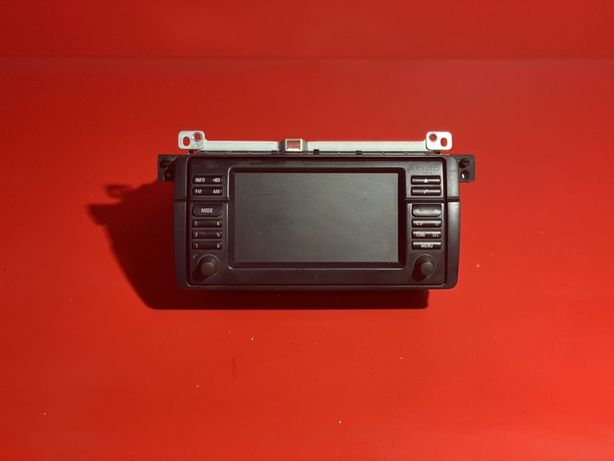 Магнітола БМВ Е46 монітор 16:9 штатная магнитола BMW 3 E46
