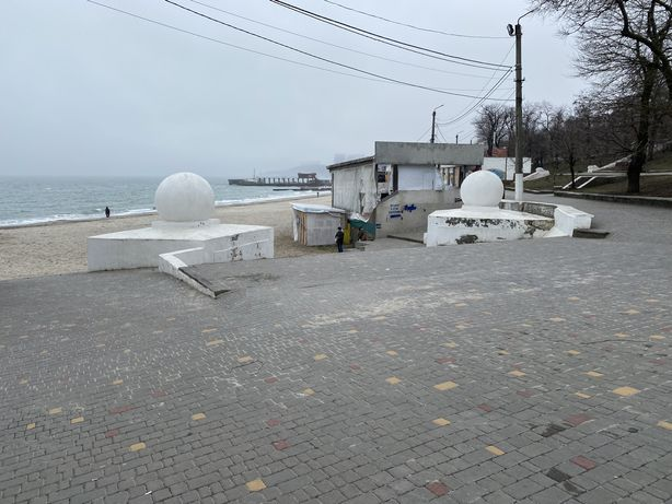 Аренда площадей под лотки на Ланжероне (море,пляж,побережье)