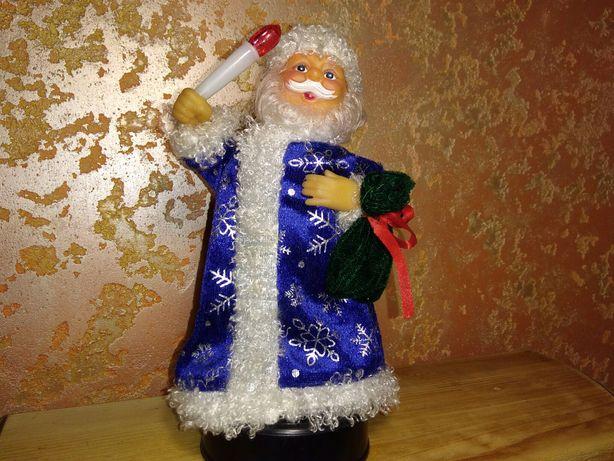 Дед Мороз Санта Клаус 22см