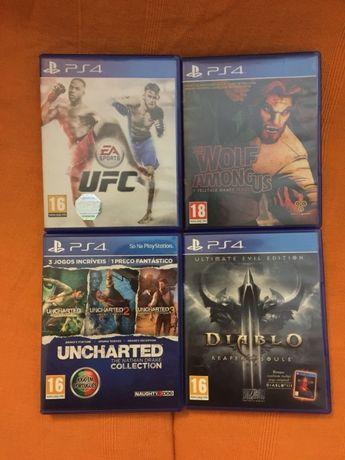 Vários Jogos PS4
