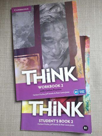 Livro escolar think workbook 2 e student's book 2