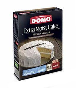 Смесь для бисквита со вкусом французской ванили Domo 500 грамм