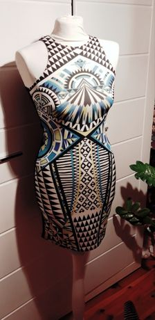 Sukienka aztecki wzór