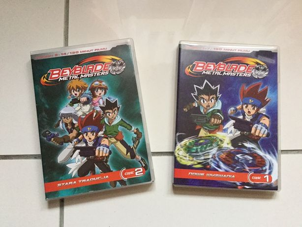 2szt film dvd beyblade cz 1 i 2 lub zamiana akwarystyka ew.inne