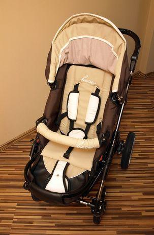 Wózek dziecięcy Bexa Fashion 2w1 + gratisy