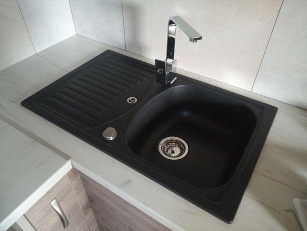 Мийка кухонна гранітна (умивальник) Delinia
