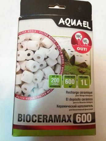 Керамический наполнитель aquael bioceramax 600