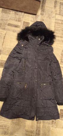 Kurtka zimowa płaszcz parka czarna
