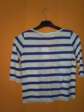 Narzutka,bluzeczka w paski marynarskie