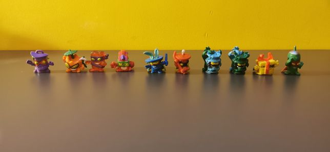 Super Zings różne serie 40 sztuk