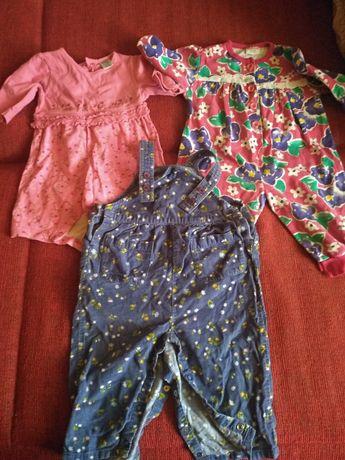 Ubrania dla dziewczynki 6-12 miesięcy