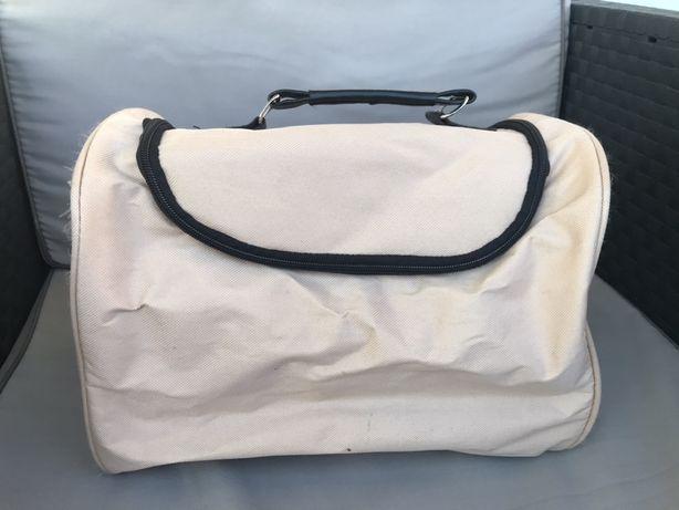 Kufer, kosmetyczka, torba.