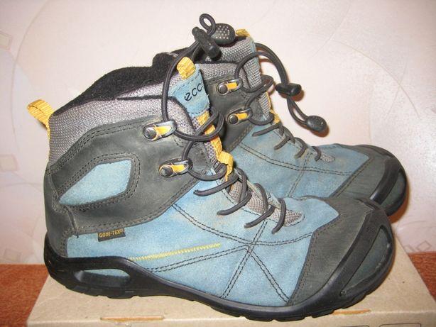 Кожаные демисезонные ботинки Ecco 35 36р. (22.7 см.)