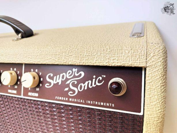 Fender® Super-Sonic™ 22 Blonde полный комплект