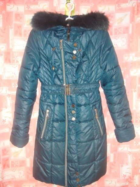 Дешево Пальто зимнее нуи вери (nui very)теплое, 40 р, девочка, девушка