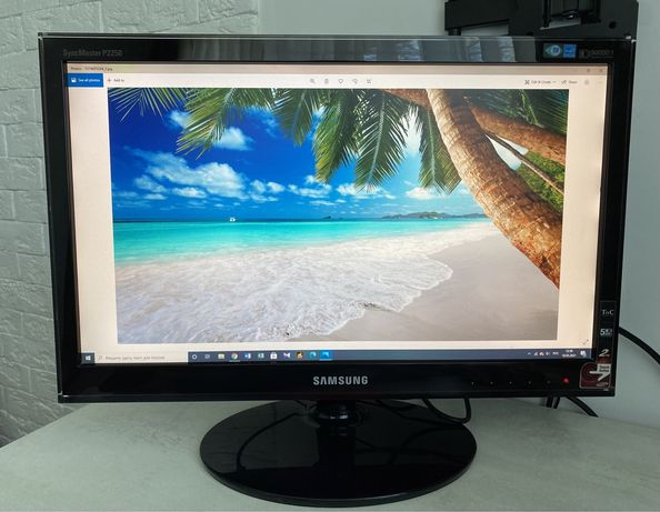 Монитор 22 Samsung SM P2250 LS22LRZKUV Rose Black, самсунг компьютер