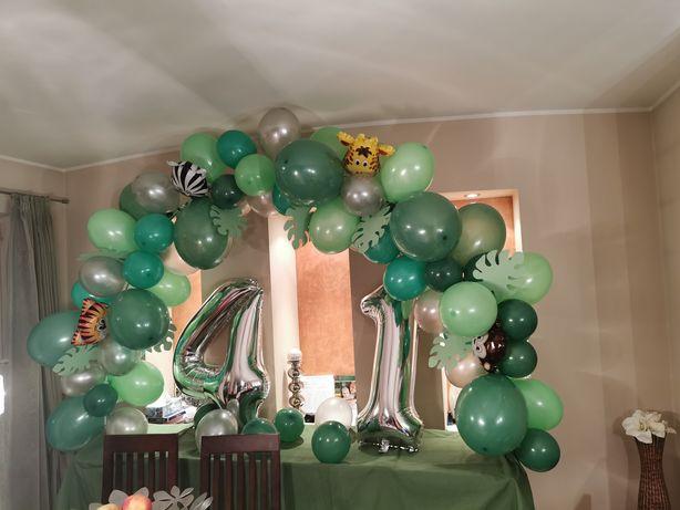 Roczek balony łuk balonowy