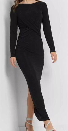 Czarna maxi sukienka Orsay 38