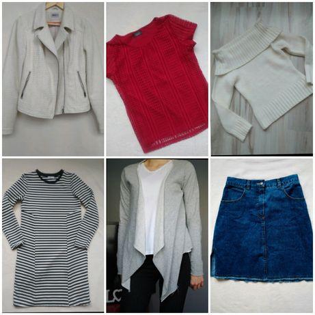 Paczka ubrań rozmiar S/M, zestaw ubrań, wielka paka ubrań S/M