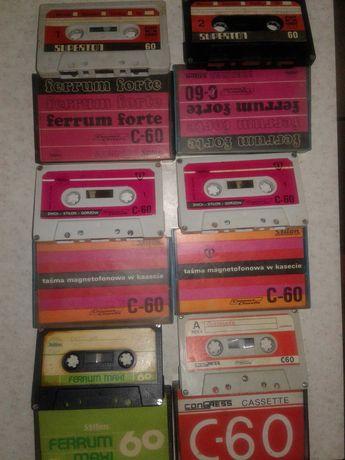 Аудиокассеты Польша и Япония 70х годов выпуска.