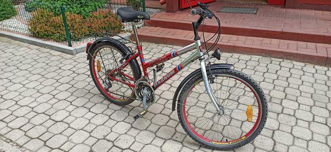 """Sprzedam rower dla dziewczynki 24""""."""